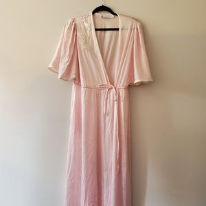 Olga Vandemere 1970s pink nightgown medium